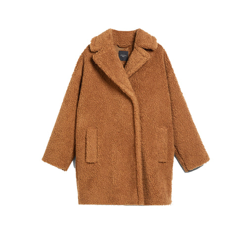 Max Mara Weekend Onesto Teddy Wool Blend Coat