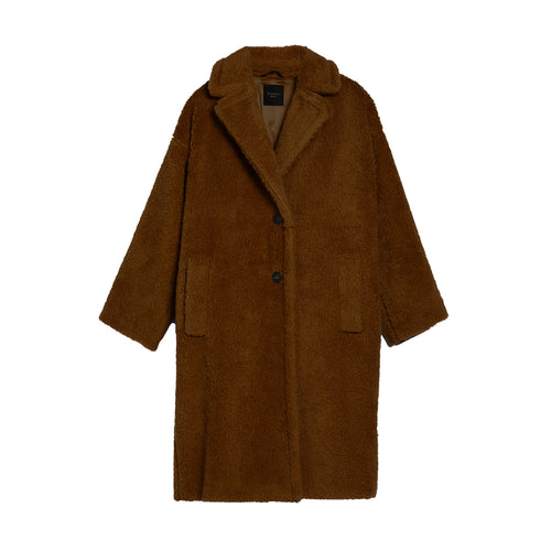 Max Mara Weekend Teddy Wool Blend Coat