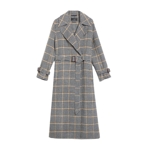 Max Mara Weekend Aldo Wool Blend Long Coat