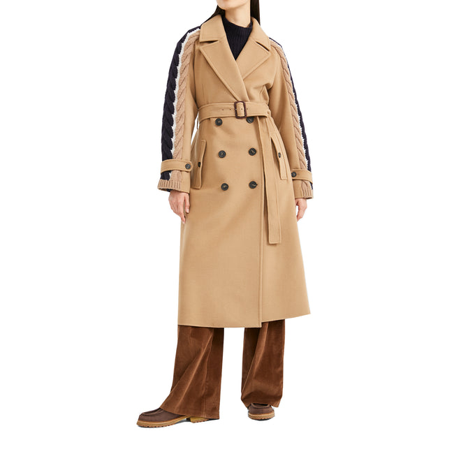 Max Mara Weekend Totem Wool Long Coat