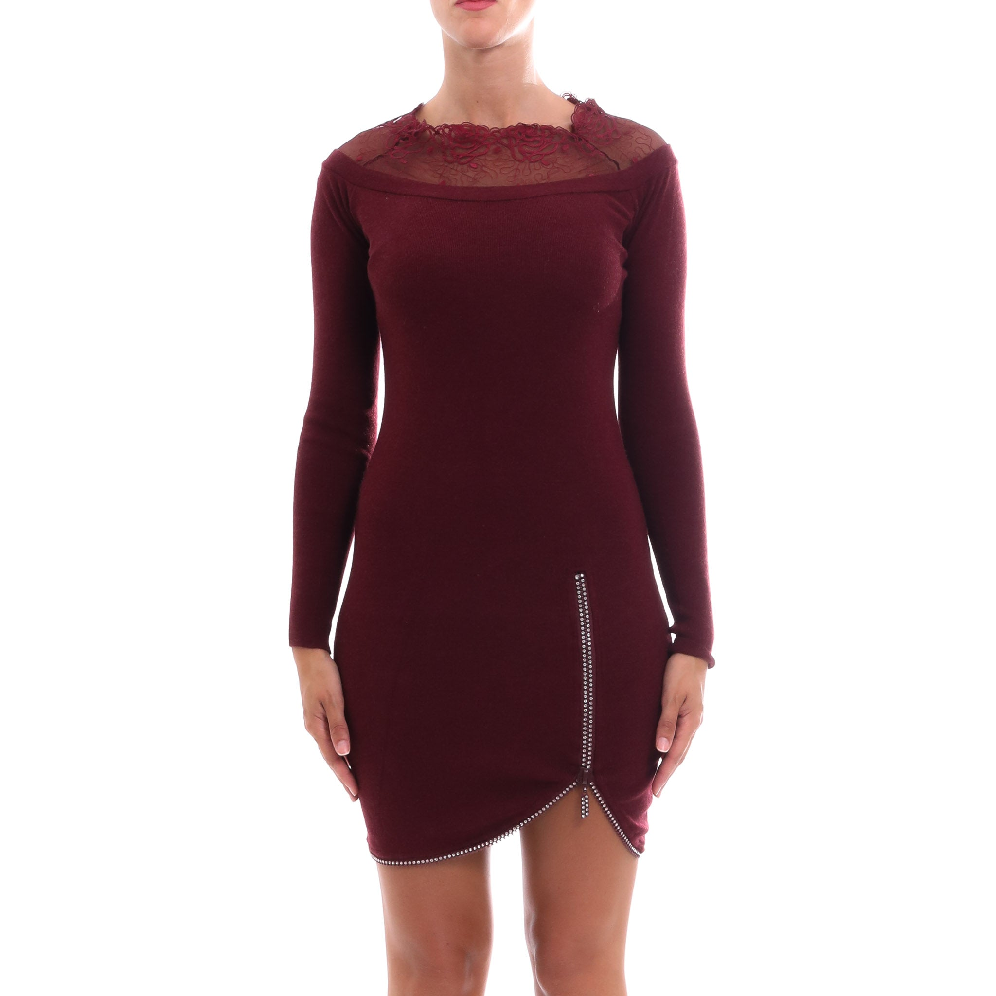 Cashmere Company Knitted Slim Dress