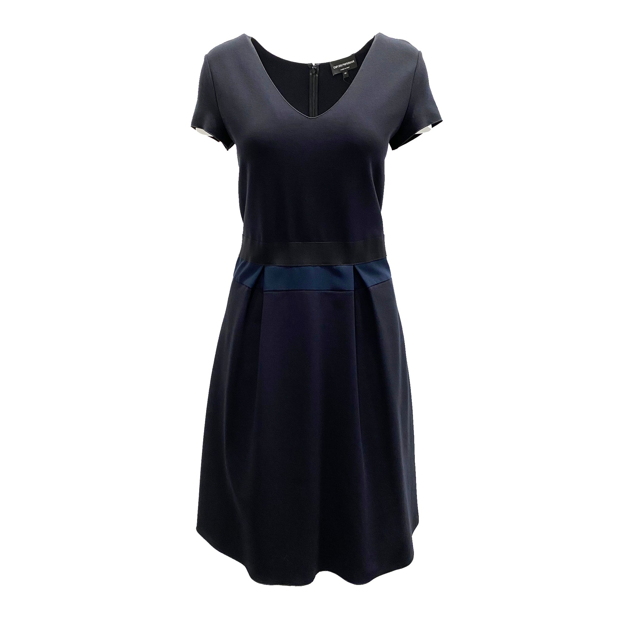 Emporio Armani Knitted Flare Dress