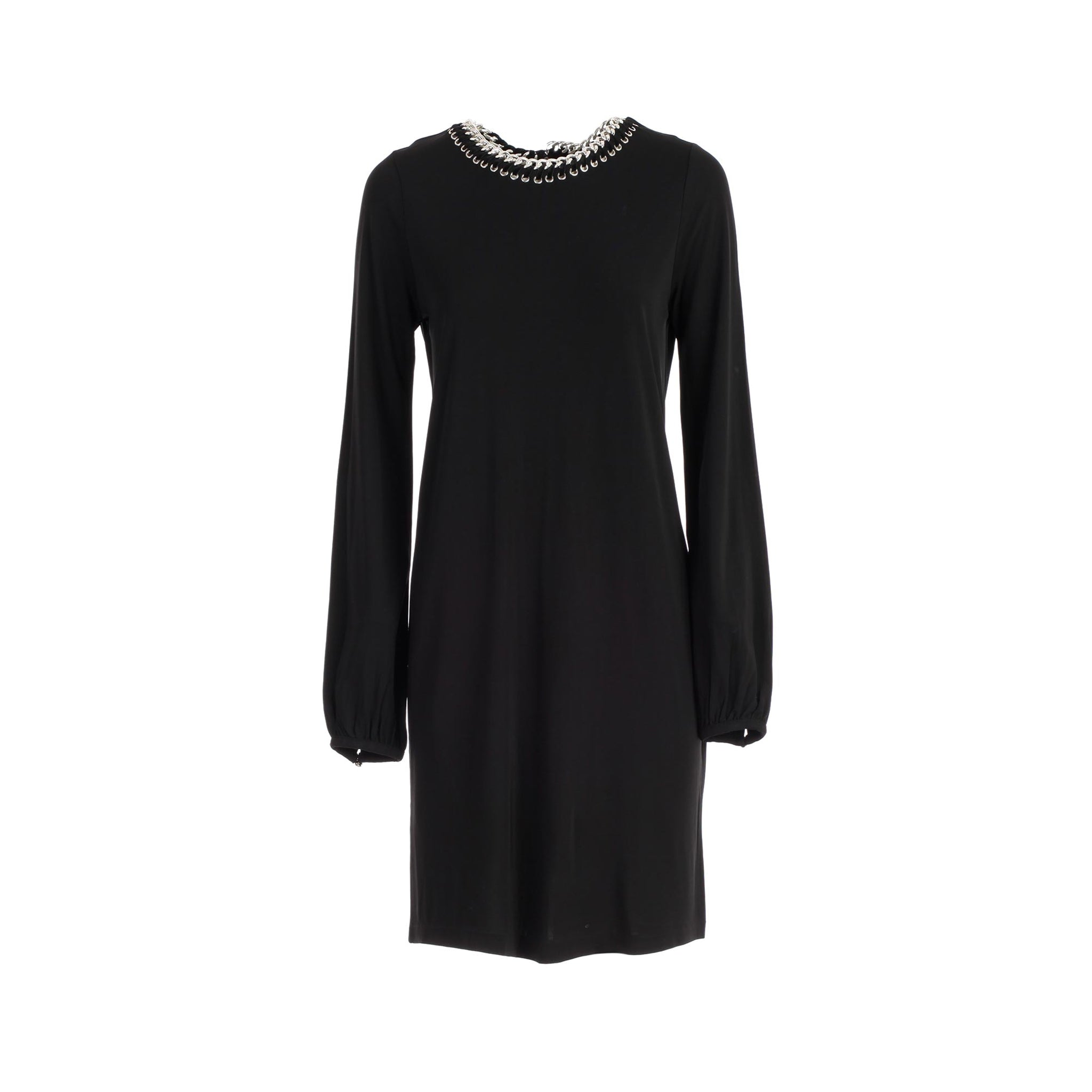 Michael Kors Straight Cut Viscose Dress