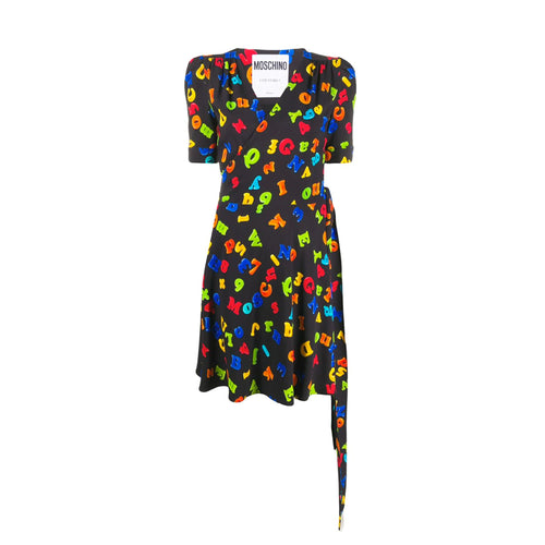 Moschino Fridge Magnet Print Dress