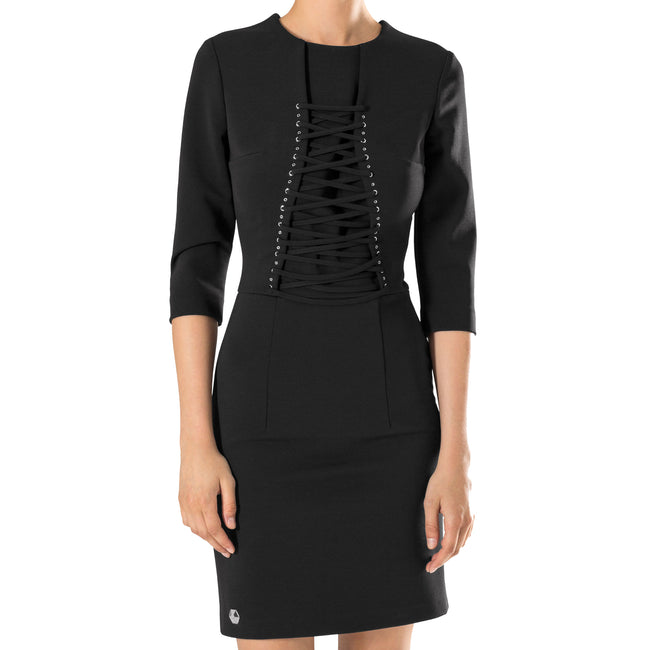 Philipp Plein Novel Skintight Dress