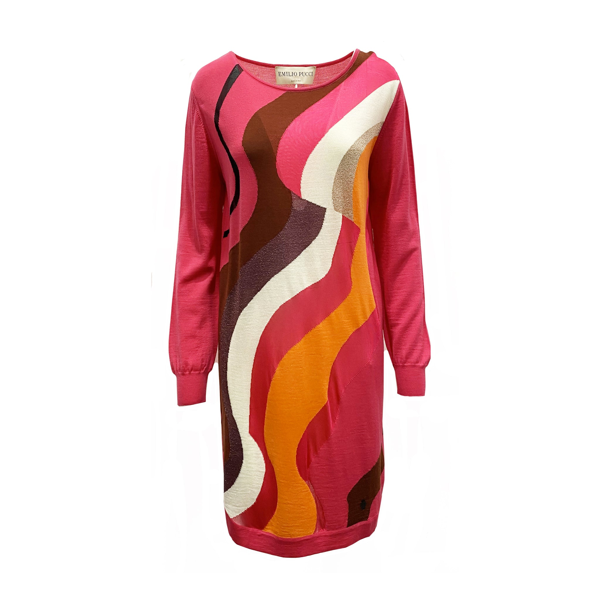 Emilio Pucci Knitted Wool Blend Dress