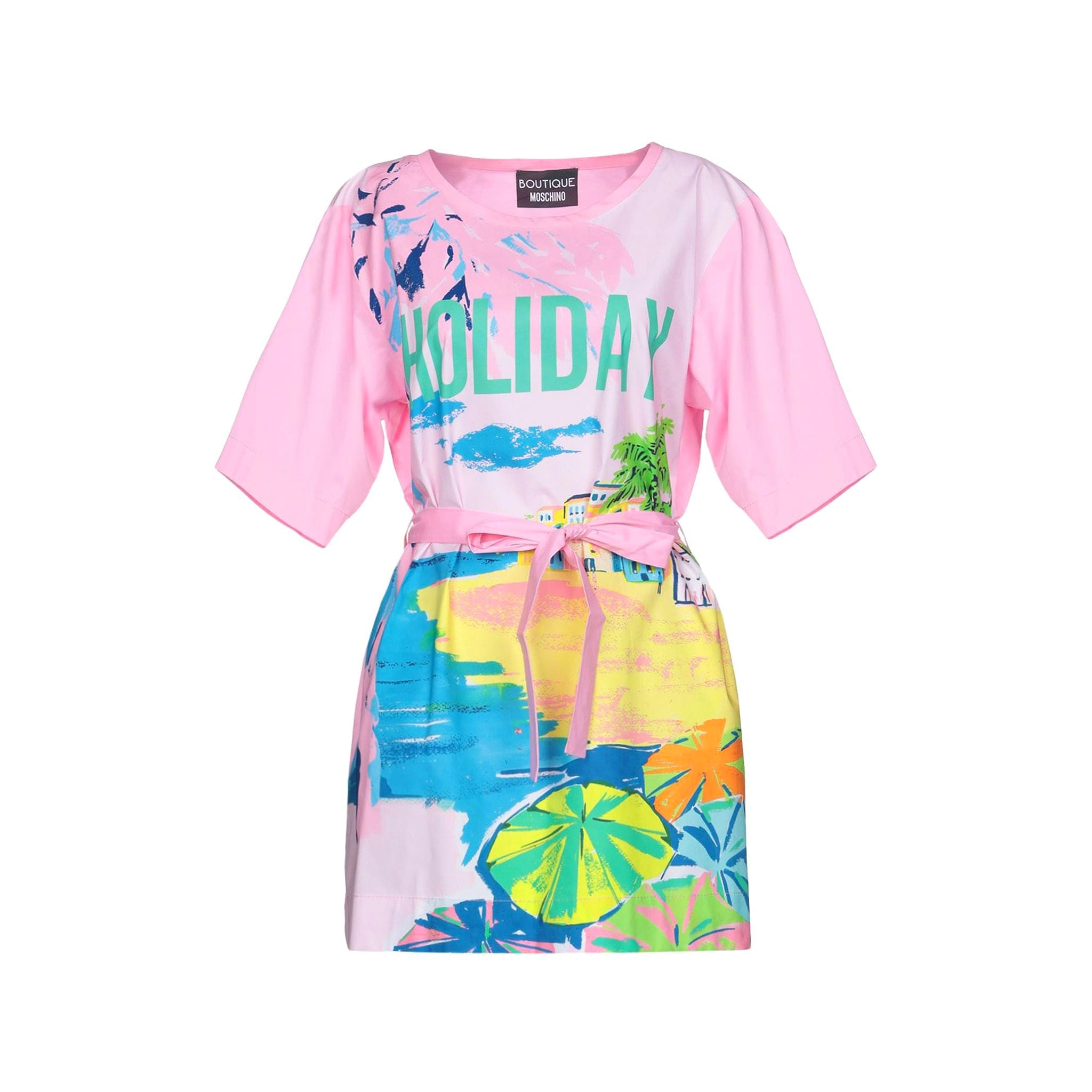 Boutique Moschino Cotton Printed Dress