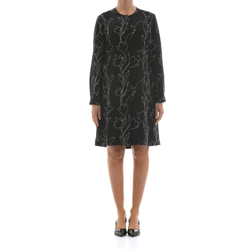 Max Mara Studio Printed Dress-MAX MARA STUDIO-SHOPATVOI.COM - Luxury Fashion Designer
