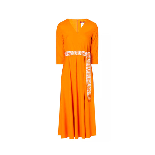 Max Mara Studio Midi Cotton Dress
