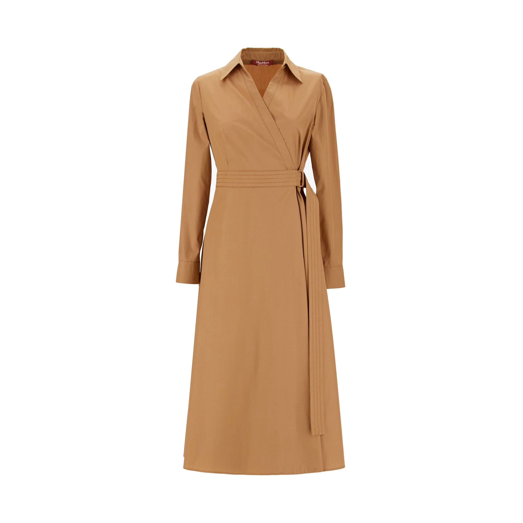 Max Mara Studio Jack Cotton Poplin Dress