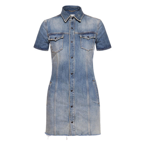 Yves Saint Laurent Denim Dress