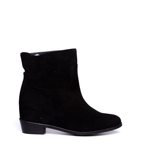 Suede Ankle Boots-EQUITARE-SHOPATVOI.COM - Luxury Fashion Designer