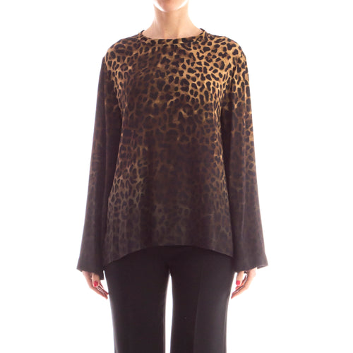 Tom Ford Animal Print Blouse-TOM FORD-SHOPATVOI.COM - Luxury Fashion Designer
