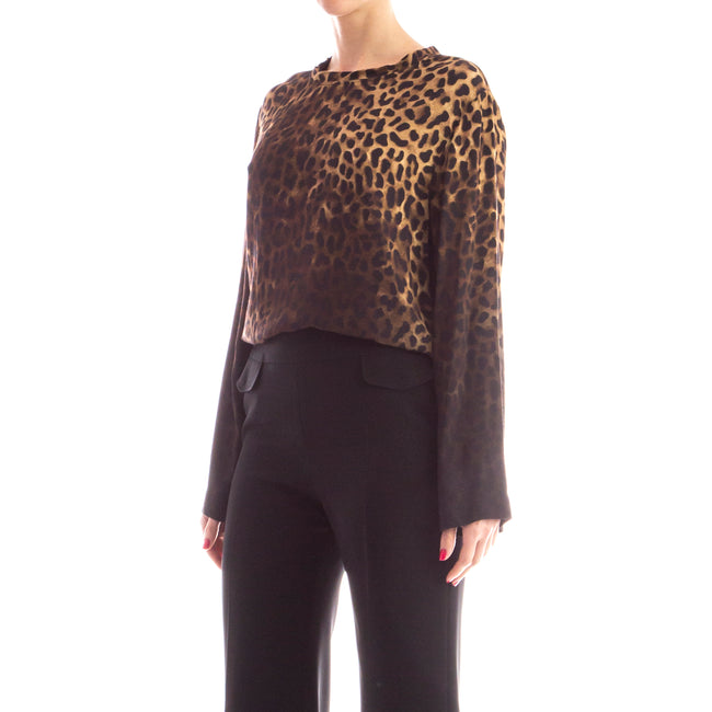 Animal Print Blouse-TOM FORD-SHOPATVOI.COM - Luxury Fashion Designer