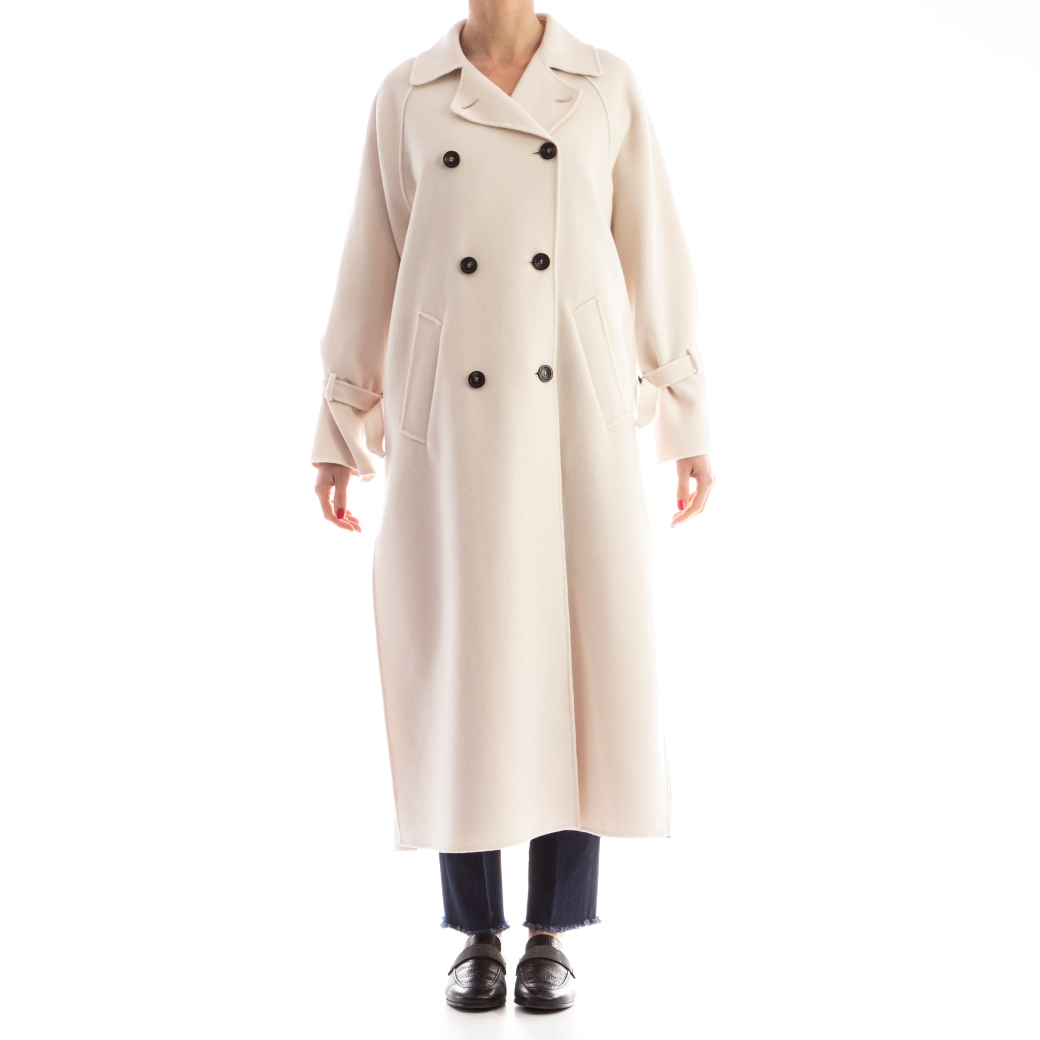 Max Mara Weekend Wool-Blend Coat-MAX MARA WEEKEND-SHOPATVOI.COM - Luxury Fashion Designer