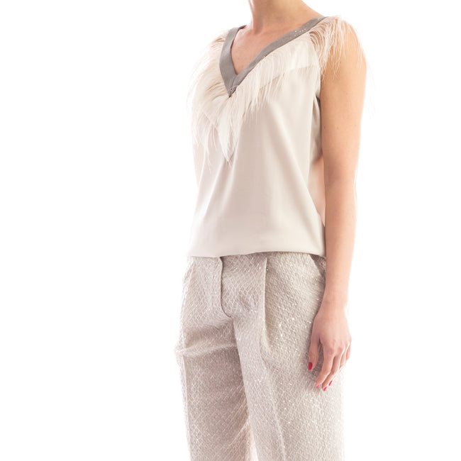 Silk Top-BRUNELLO CUCINELLI-SHOPATVOI.COM - Luxury Fashion Designer