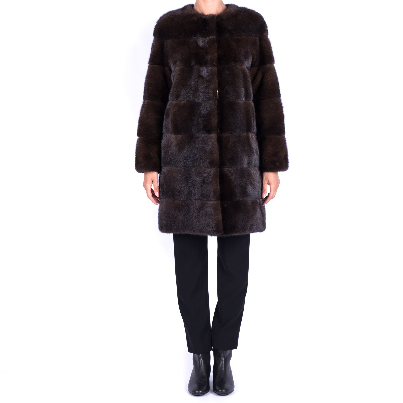 Mink Fur Coat-BORRELLI-SHOPATVOI.COM - Luxury Fashion Designer