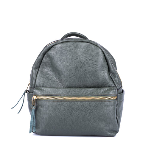 Zona Brera Textured Leather Backpack-ZONA BRERA-SHOPATVOI.COM - Luxury Fashion Designer
