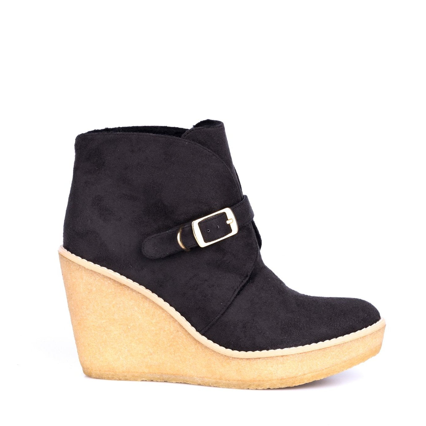 Faux Suede Ankle Boots-Stella McCartney-SHOPATVOI.COM - Luxury Fashion Designer