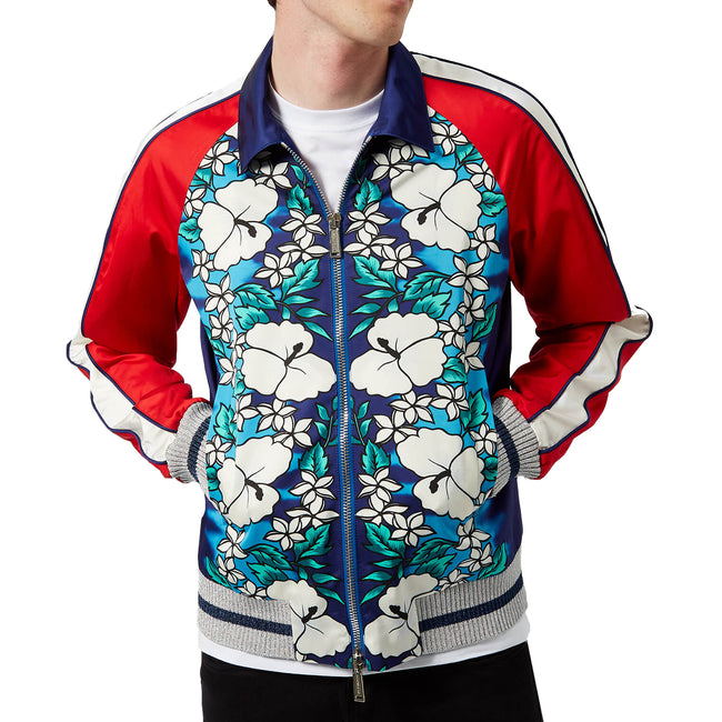 Dsquared2 Ibisco Printed Bomber Jacket