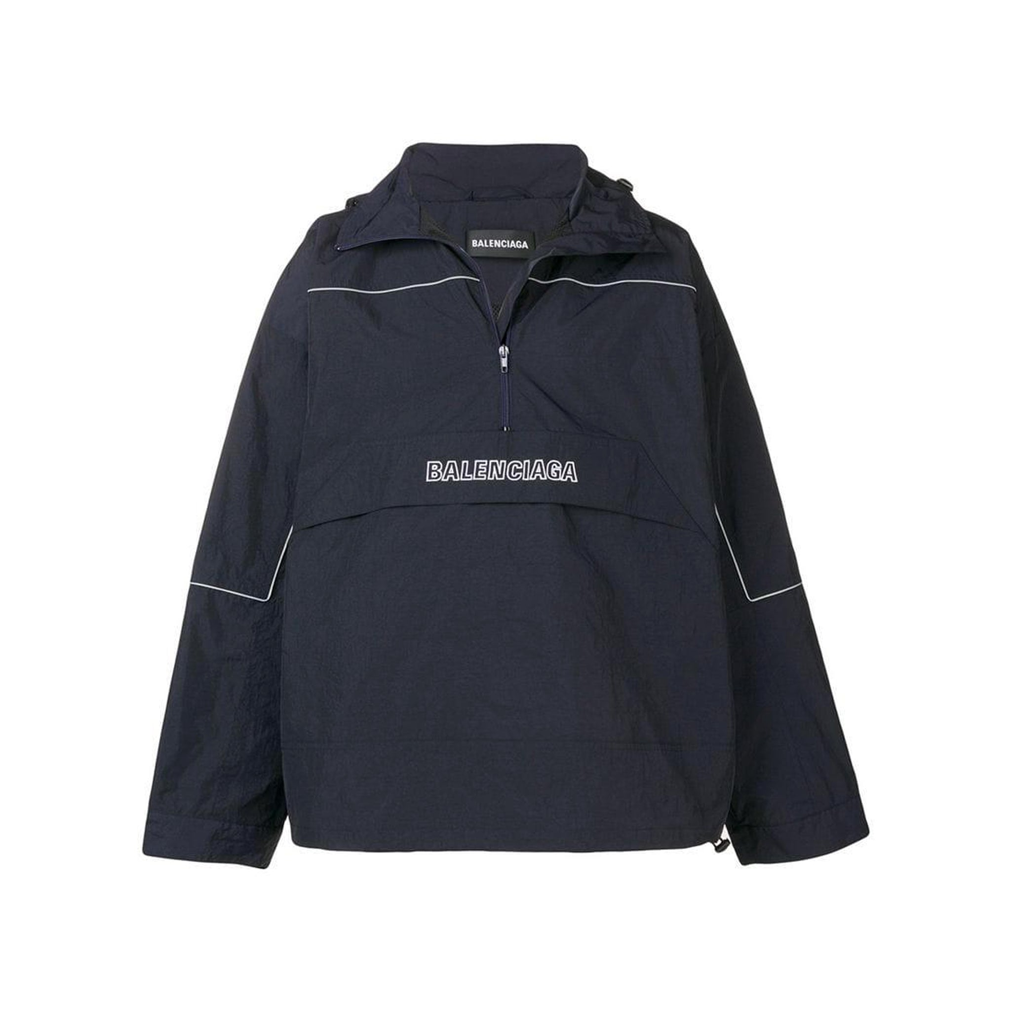 Balenciaga Windbreaker Logo Jacket