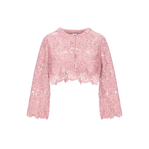 Blumarine Cropped Lace Jacket