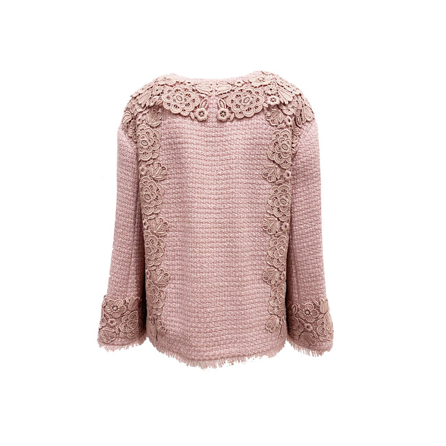 Blumarine Knitted Wool Jacket