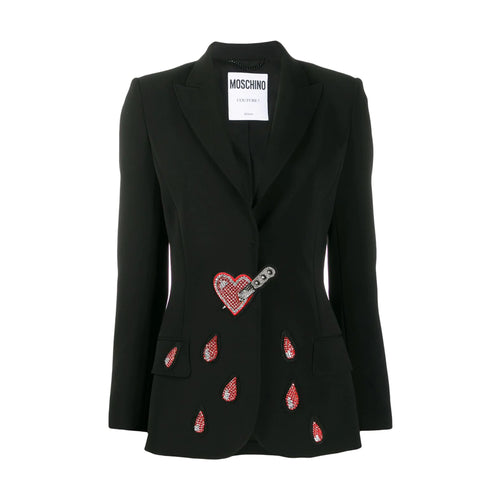 Moschino Heart Embroidery Jacket