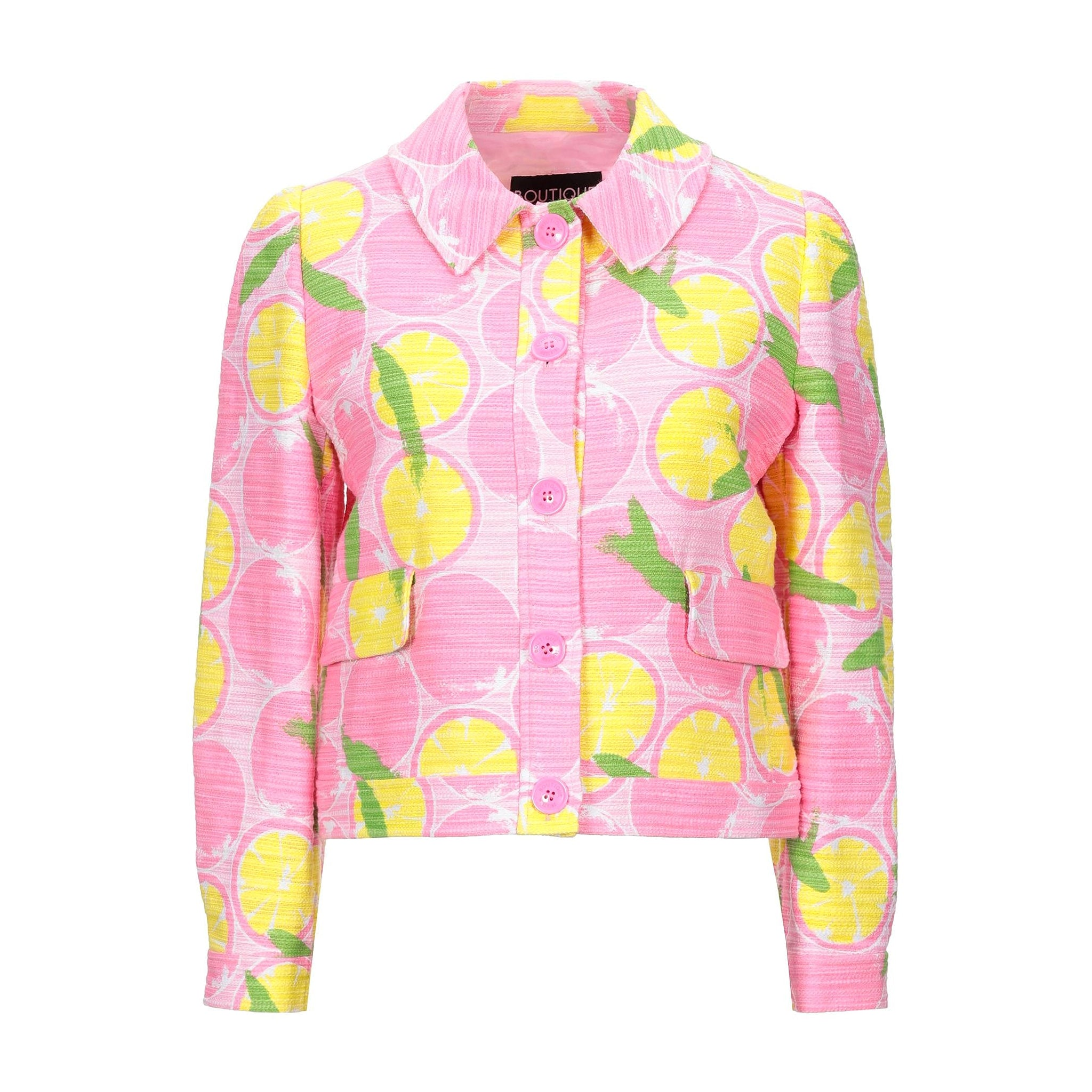 Boutique Moschino Jacquard Printed Jacket