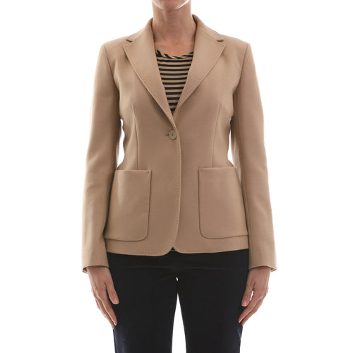 Max Mara Studio Wool Blazer-MAX MARA STUDIO-SHOPATVOI.COM - Luxury Fashion Designer