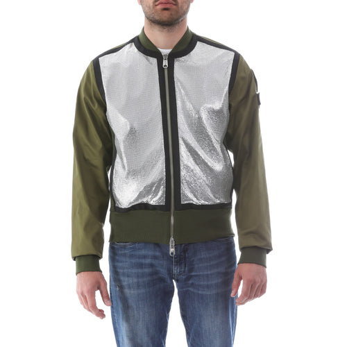 Versace Versus Cotton Bomber Jacket