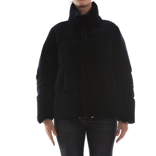 Max Mara Weekend Velvet Down Jacket-MAX MARA WEEKEND-SHOPATVOI.COM - Luxury Fashion Designer