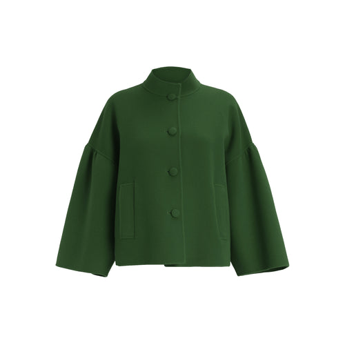 Max Mara Weekend Chiffon Wool Jacket