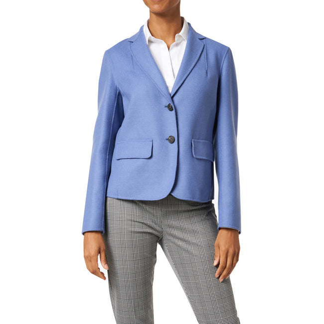 Max Mara Weekend Sante Wool Short Blazer