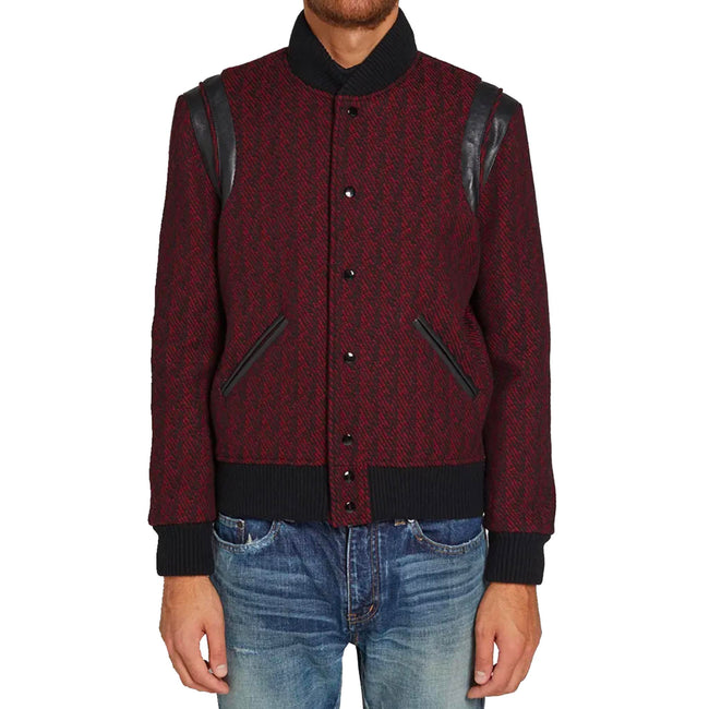 Yves Saint Laurent Wool Bomber