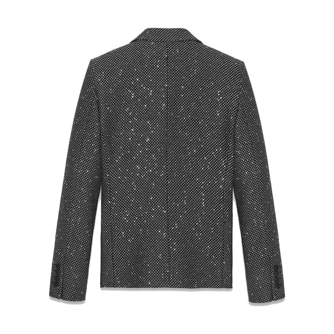 Yves Saint Laurent Embellished Tweed Blazer