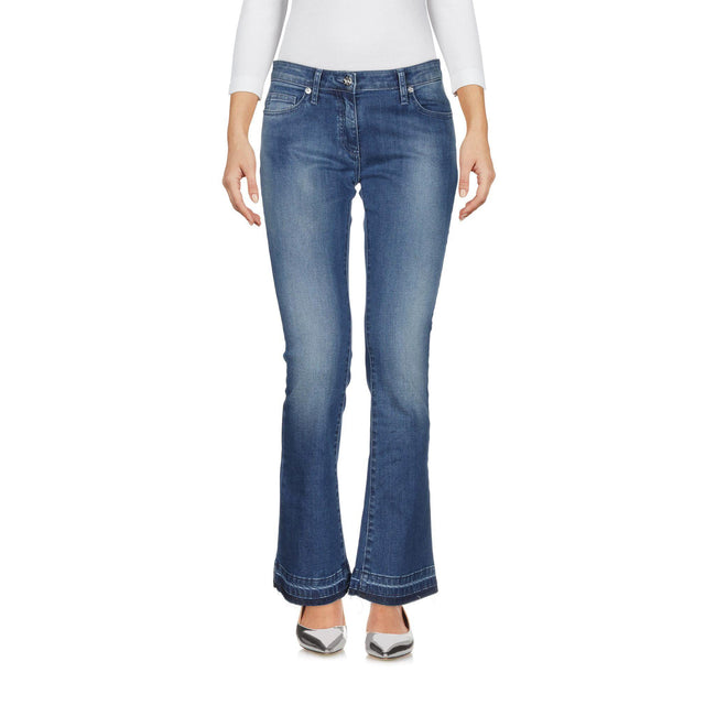 Blumarine Washed Effect Denim Jeans