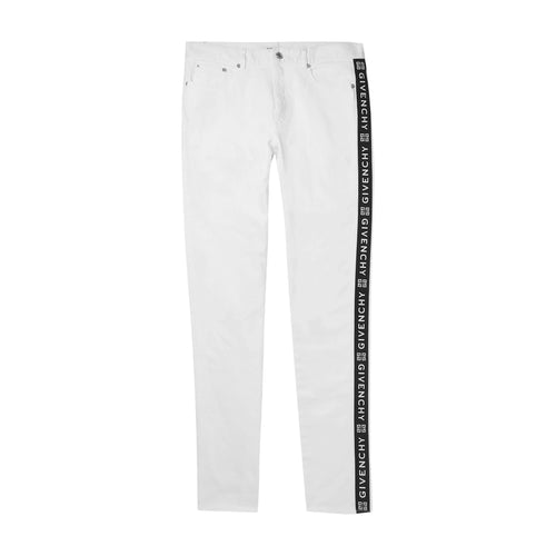 Givenchy Logo Tape Skinny Jeans