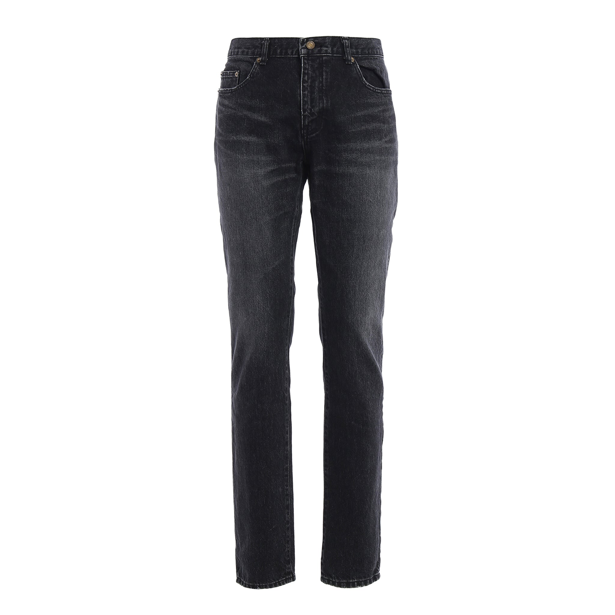 Yves Saint Laurent Light Wash Denim Jeans