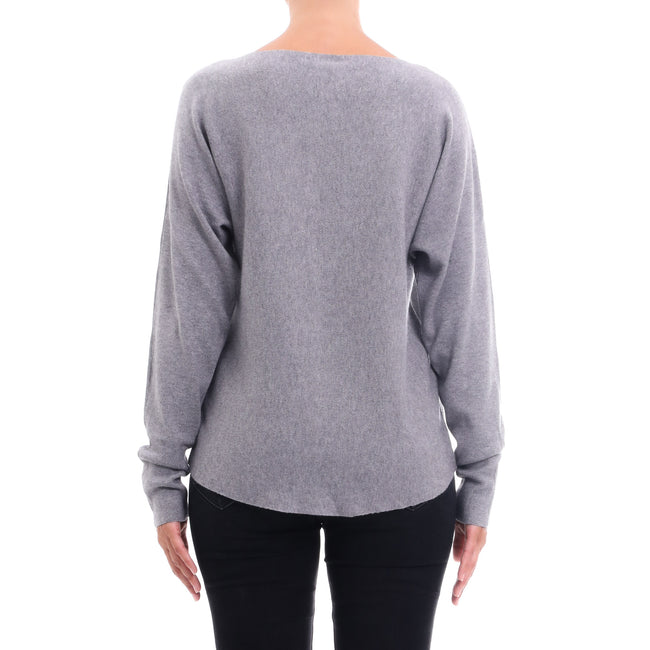 Cashmere Company Ribbed-Knit Sweater