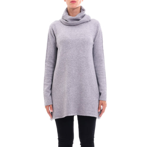 Cashmere Company Dolcevita Long Wool Sweater