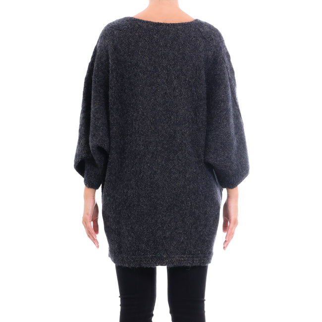 Cashmere Company Oversized Wool Blend Sweater