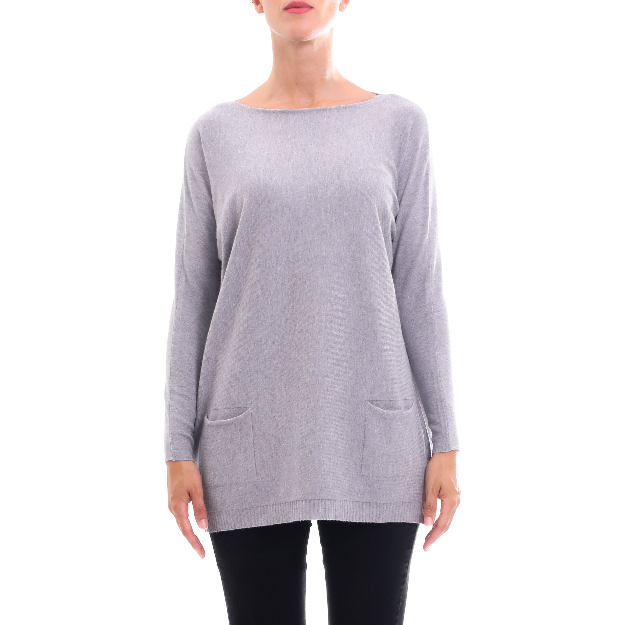Cashmere Company Knitted Wool Blend Sweater