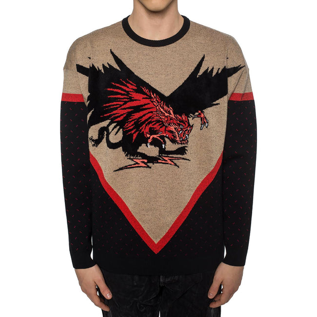 Givenchy Eagle Wool Blend Sweater