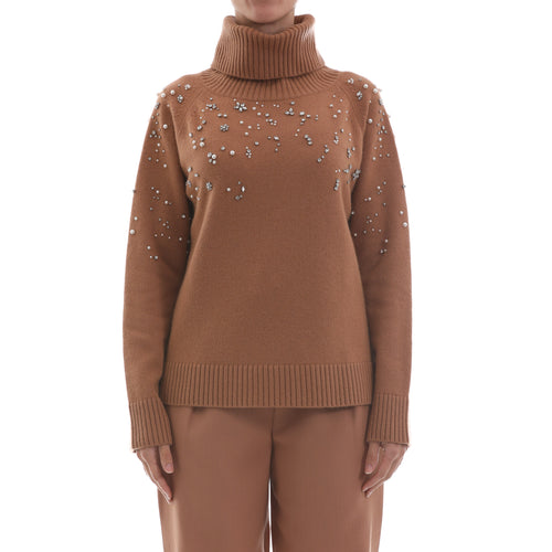 Max Mara Studio Cashmere And Wool Yarn Jumper-MAX MARA STUDIO-SHOPATVOI.COM - Luxury Fashion Designer