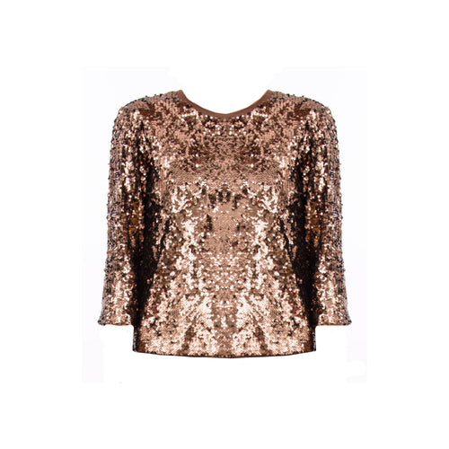 Max Mara Weekend Dandy Sequins Knit Top