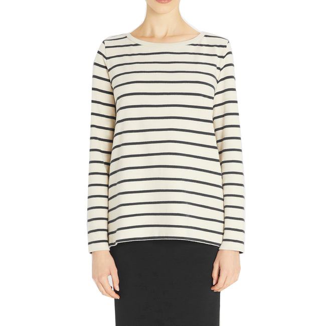 Max Mara Weekend Aereo Breton Stripe Sweater