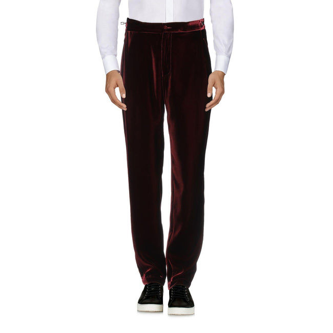 Emporio Armani Cotton Velvet Trousers