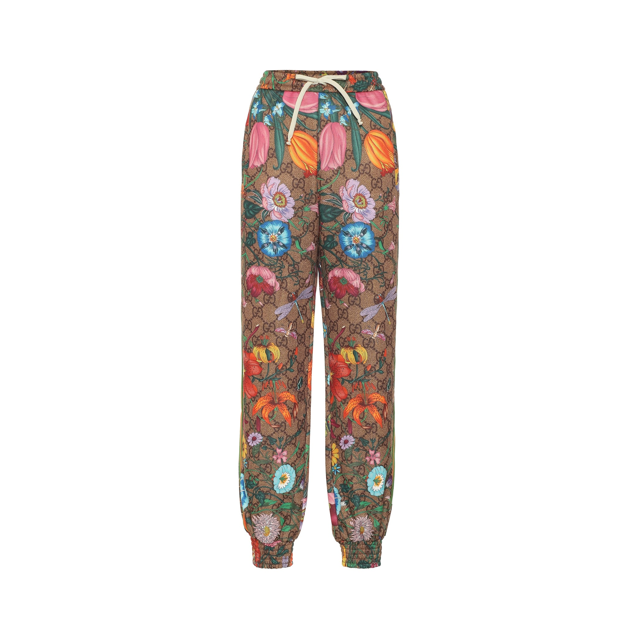 Gucci Gg Flora Jersey Trackpants