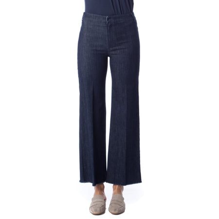 Max Mara Weekend Cotton Gabardine Trousers
